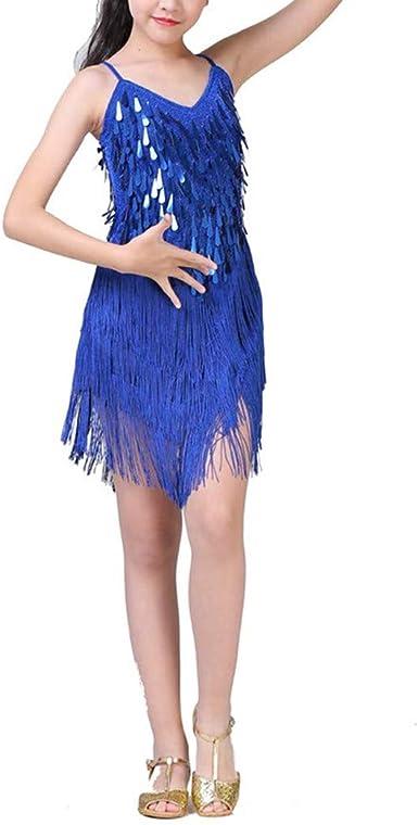 Traje de Baile Latino para Niñas - Escenario para Camisa Falda ...