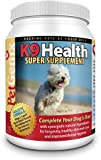 K9 Health, Healthy Skin & Coat Holistic Formula for Dogs with Natural Ingredients and Herbs for Overall Health