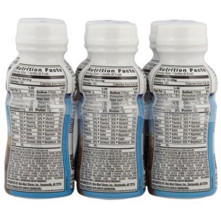Equate delicious diabetic vanilla nutritional shake, 8 Oz, 6 Ct