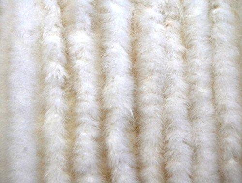 10 PCS Thin Marabou Feather Boa 2 Yards Long (72