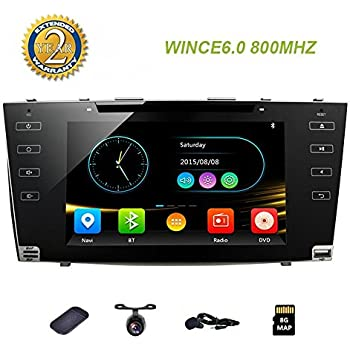 hizpo camry aurion car dvd player 2006 2007. Black Bedroom Furniture Sets. Home Design Ideas