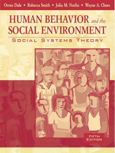 Human behavior and the environment