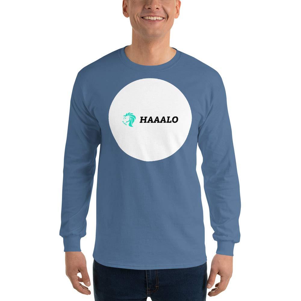 Long Sleeve T-Shirt HAAALO Indigo