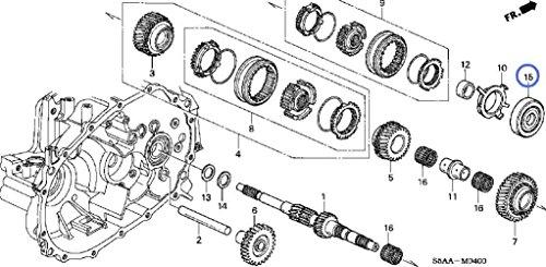 input shaft bearing - 1