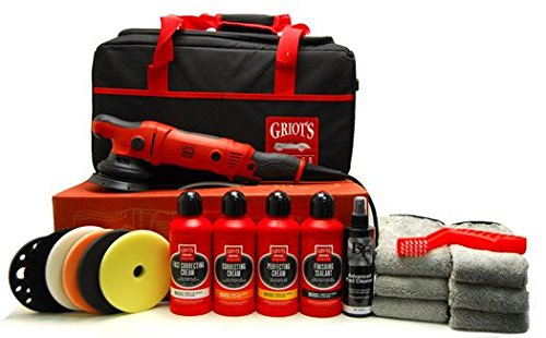 Kit Garage Deluxe - Deluxe Kit for the Griot's Garage G15 long throw Polisher