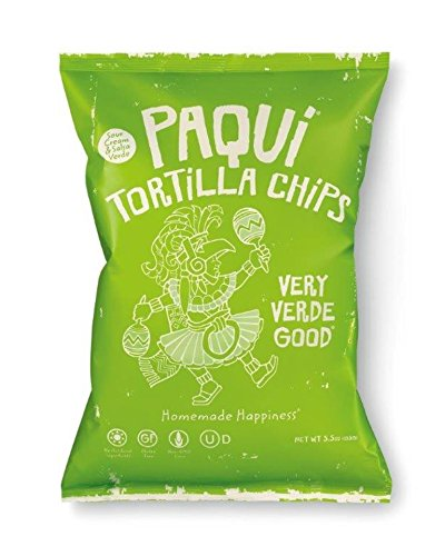 Price comparison product image Paqui Tortilla Chips,  Cool Salsa Verde,  5.5 Ounce
