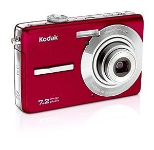 Kodak Easyshare M763 7.2 MP Digital Camera with 3xOptical Zoom (Red)