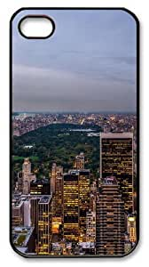 central park Polycarbonate Hard Case Cover for iPhone 4/4S Black Christmas gift