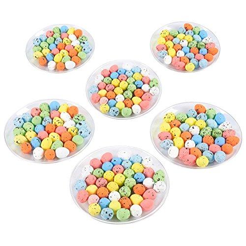 Mini Easter Eggs - 216-Pack of Decorative Foam