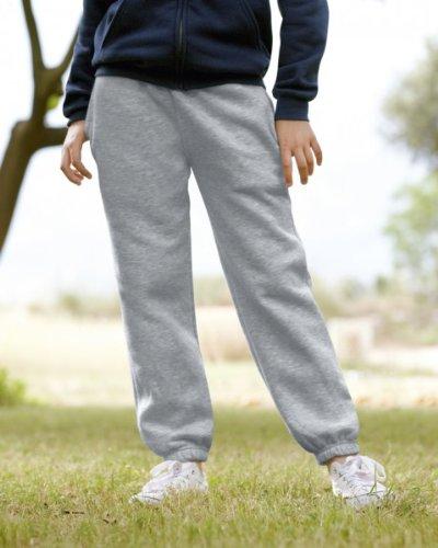 Kinder Jogginghose Freizeithose, Farbe:Heather Grey;Größe:140