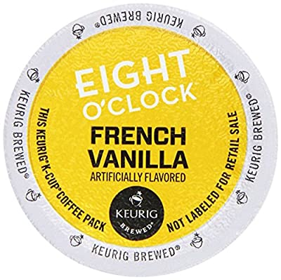 Eight O'Clock French Vanilla Coffee Keurig 2.0 K-Cup Pack, 36 Count