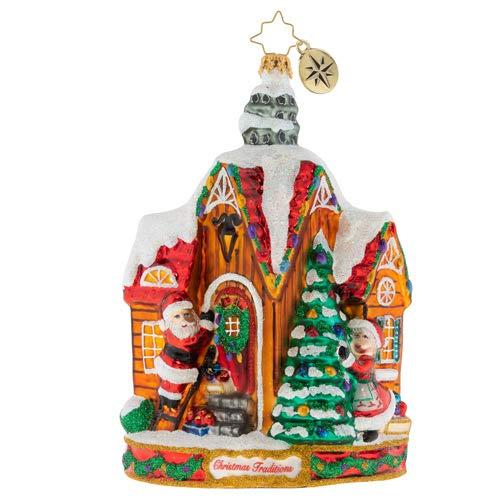 (Christopher Radko Decorating Christmas Ornament, Multicolor)