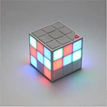 New Wayzon Magic Rubik's Cube Portable LED RGB Light Deep Bass Bluetooth 4.0 Wireless Speakers with Build in Microphone Hands-free, Sopport Micro SD Card up to 32GB (NEW UPGARDED VERSION)
