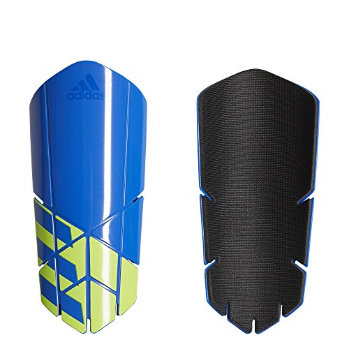 - adidas Performance X Lesto Shin Guards, Football Blue/Black/Solar Yellow, Medium