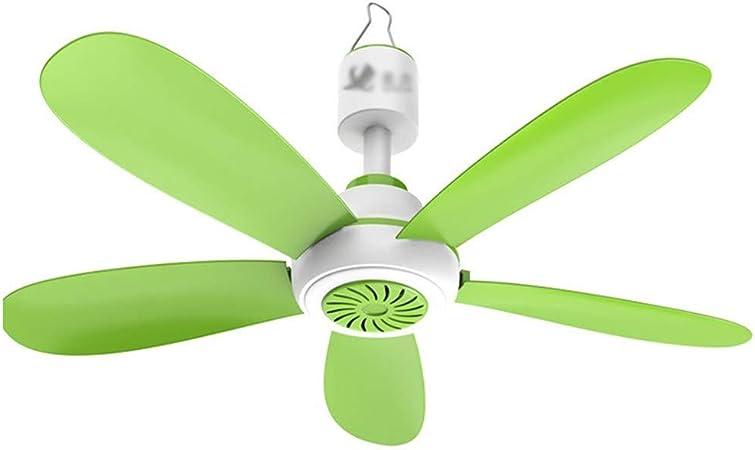 Ventilador de techo pequeño con mosquitera, ventilador de techo ...