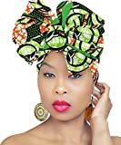 PREMIUM QUALITY Hijab African HeadWrap African Fabric Scarf Chic Collection Light Weight African Head Wrap Turban ROYAL HEAD WRAPS