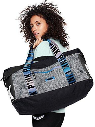 d8d11559a766 Victoria s Secret Pink Sport Oversized Duffle Tote Bag Marl Grey Blue  Gradient