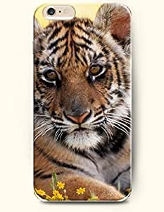 SevenArc Phone Case for iPhone 6 Plus 5.5 Inches with the Design of Cute Tiger by icecream design