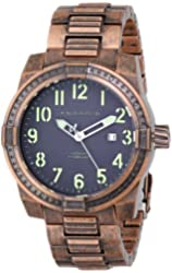 ANDROID Men's AD713ABNK Frontline  Analog Japanese-Automatic Brown Watch