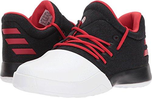 Price comparison product image adidas Kids Unisex Harden Vol. 1 (Little Kid) Black / Scarlet / White 1 M US Little Kid