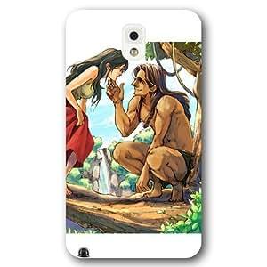 Customized White Hard Plastic Disney Cartoon Tarzan Samsung Galaxy Note 3 Case