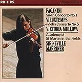 Paganini: Violin Concerto No. 1, Vieuxtemps: Violin Concerto No. 5