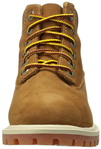 Bambini Nubuck in Rust Braun Waterproof With Honey Timberland Marrone Premium Unisex Stivali 6 5SvR6nxFY