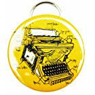 Girls Can Tell KB053 Typewriter Keychain Bottle Opener