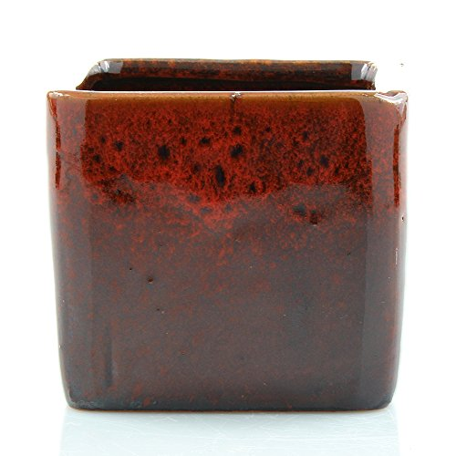 Red Bamboo Pot - 7