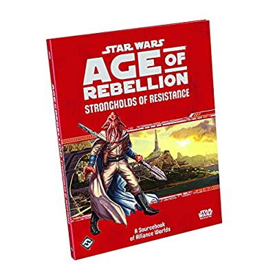 Star Wars: Age of Rebellion - Strongholds of Resistance: Fantasy Flight Games: Toys & Games