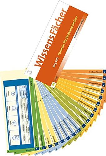 WissensFächer - Formeln für Elektrotechniker (de-WissensFächer) Pappbilderbuch – 23. September 2015 Jörg Veit Hüthig GmbH 3810103985 Elektroberufe