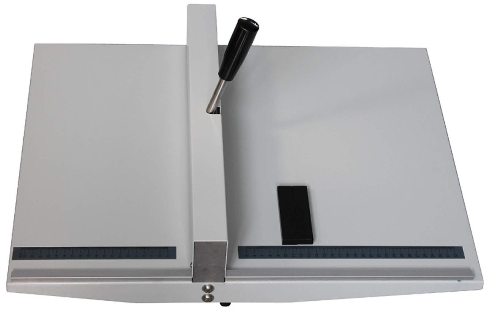 INTBUYING Manual 14'' 360mm Scoring Paper Creasing Machine Scorer Creaser + 2Magnetic Block by INTBUYING