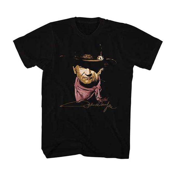 2Bhip John wayne hollywood icono actor de vaca pintada camiseta para hombre: Amazon.es: Ropa y accesorios