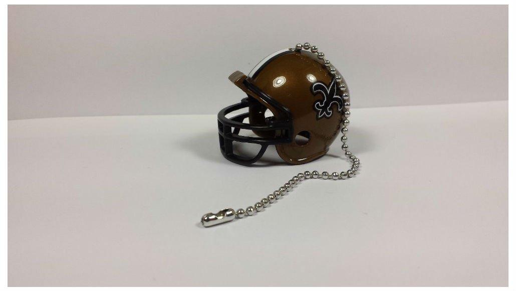 (New Orleans Saints) - NEW NFL Ceiling Fan Helmet Pull Chain Lamp Pull Chain   B01N29LBQ0