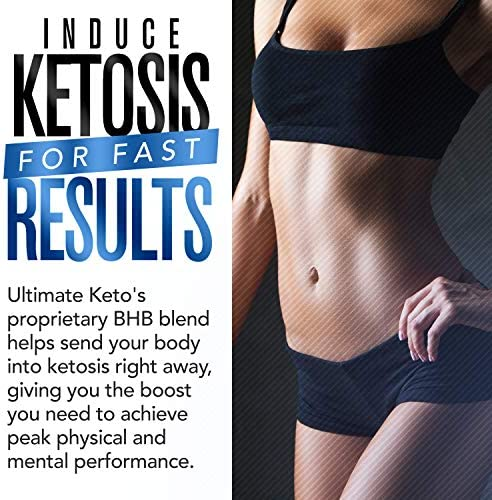 Ultimate Keto - BHB Exogenous Ketones Supplement - Weight Loss and Keto Diet Support - Enter Fast Ketosis - Burn Fat - Beta-Hydroxybutyrate Mineral Salts Formula for Men and Women 4