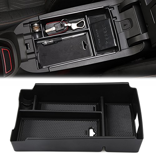 AndyGo Car Center Console Armrest Box Glove Box Secondary Storage Tray For Chevrolet Equinox 2018