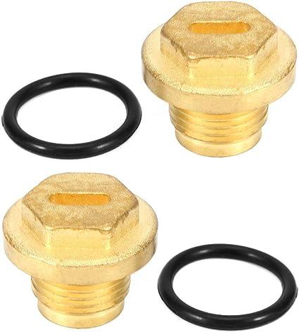 Tappi differenziali tappo di scarico differenziale in ottone per riempimento differenziale adatto per Discovery 2 Td5 e V8