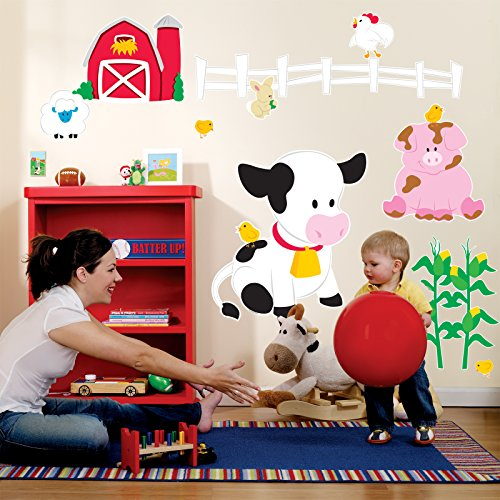 Farm Animal Room Decor - Giant Wall Decals - Farm Animal Wall