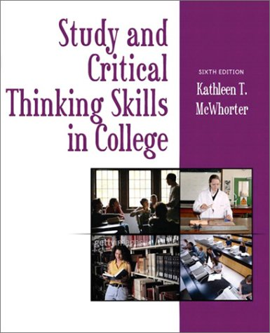 Study and Critical Thinking Skills in College (5th Edition)