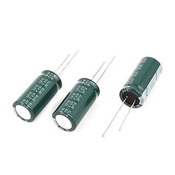 Conf. di 4 BC Radiale Elettrolitico Condensatore 1500uF 25V