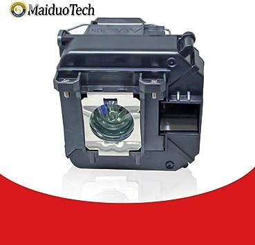 MaiDuoTech - Bombilla de Repuesto para proyector Epson V13H010L68 ...