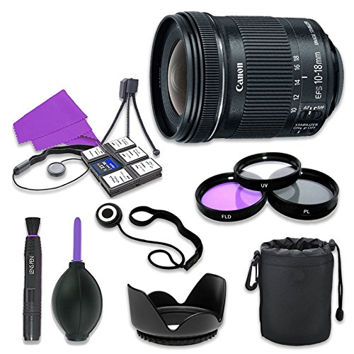 Canon EF-S 10-18mm f/4.5-5.6 IS STM Lens for Canon Digital S