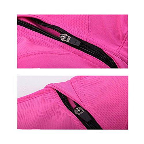 Yoga BoYann Sportivo Donna Fili Reggiseni per Ciclismo Sportivi Senza Abbigliamento Arancione Corsa 0xZ0z7qr