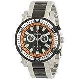 "Calibre Men's SC-5H2-04-007.079 ""Hawk"" Chrono Analog Quartz Silver Dive Watch"