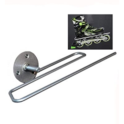 Rluii Inline Skates Display Stand/Roller Skates Wall Mount Hanger Rack Storage Display Holder(2Pcs) : Sports & Outdoors