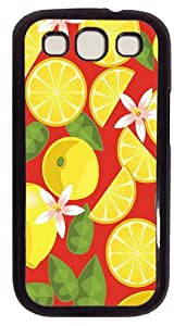 Delicious Design PC Case Cover For Samsung Galaxy S3 SIII I9300 Black