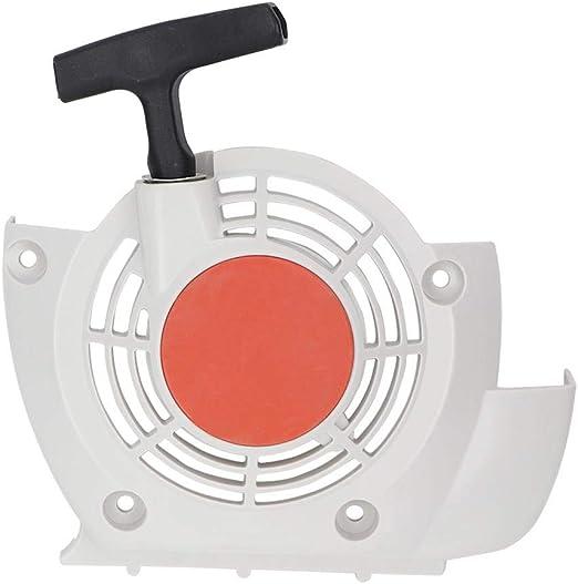 Jeffergarden Tire del arrancador Retroceso para STIHL FS400 FS450 FS480 Desbrozadora # 41280802101: Amazon.es: Hogar