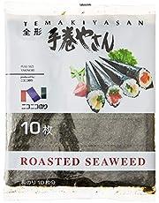 Nico Nico Foods Temakiyasan Full Size Dried Seaweed (Nori), 27g