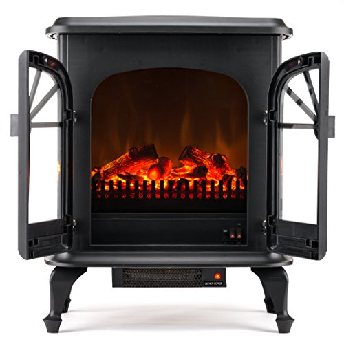 Amazon.com: Wellington Large Free Standing Electric Fireplace ...