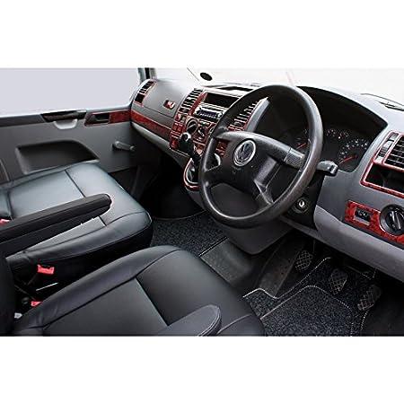 Kiravans Cab Matte für UK RHD T5/T6 mit Doppelter Wirbel Anthrazit ...